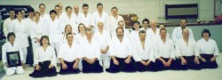 2002 UCL Aikido Club Course Commemorating 25 Years. With Senseis Mr William Smith, Gordon Jones, Philip Smith, Pat Narey.