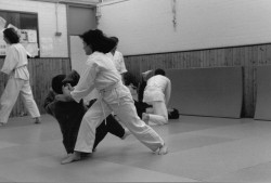 UCL Aikido Club Class Spring 19942