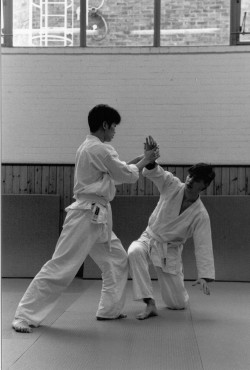 UCL Aikido Club Class Spring 1994