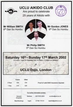UCL Dojo 25yr Course Mar 2002001