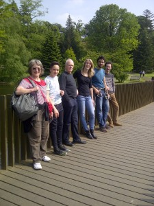 On the Sackler Crossing