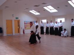 Sensei Darren Wells Teaching