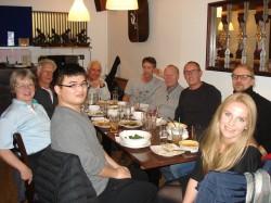 Post-training at the Taste of Siam Restaurant