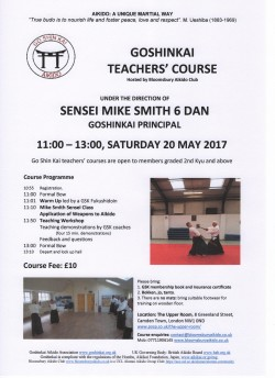 GSK Teachers'Course Poster  20May2017 001